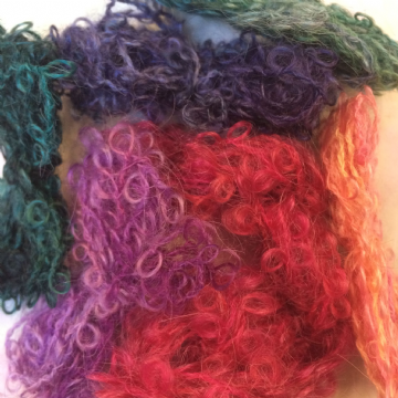Hand Dyed Mohair Loop 20 gms